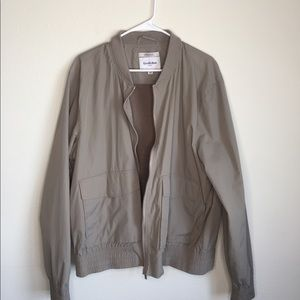 Men's goodfellow nylon bomber jacket